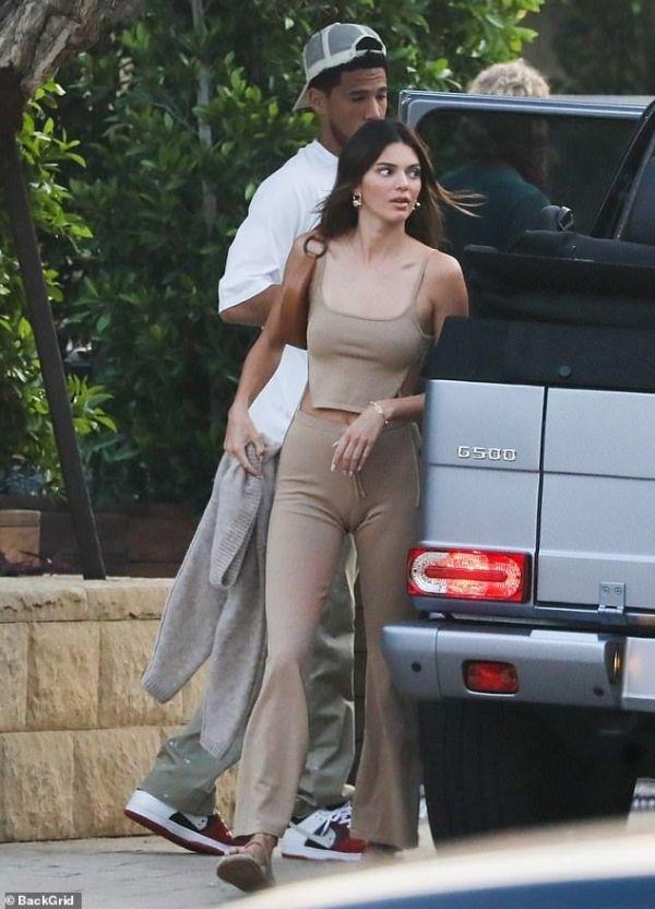 Kendall Jenner y Devin Booker