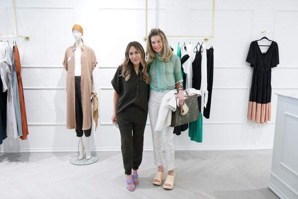 Raquel Orozco y Lili Henaine