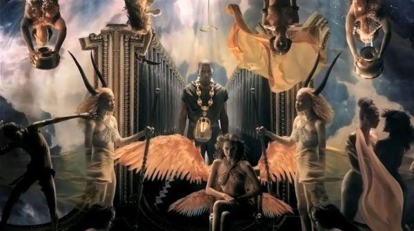 video de la cancion POWER de Kanye donde aparece Irina