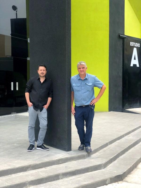 Gabriel Guzmán y Roberto Martínez