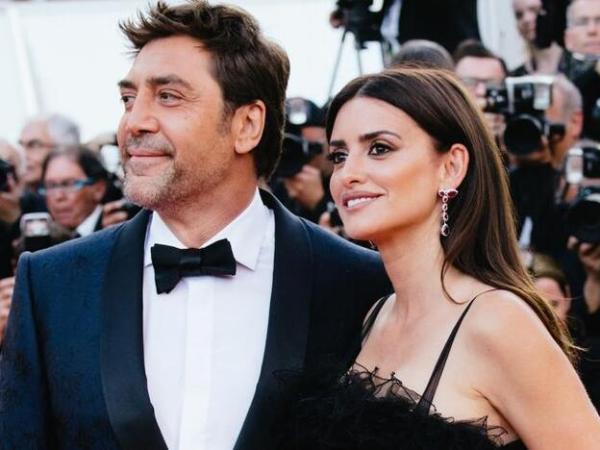 Javier Bardem y su esposa Penélope Cruz