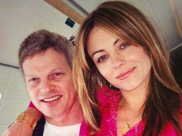 Steve Bing y Liz Hurley