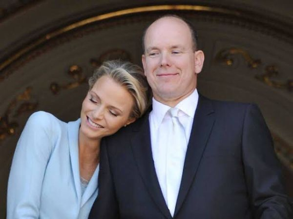 Charlene y su esposo el príncipe Alberto
