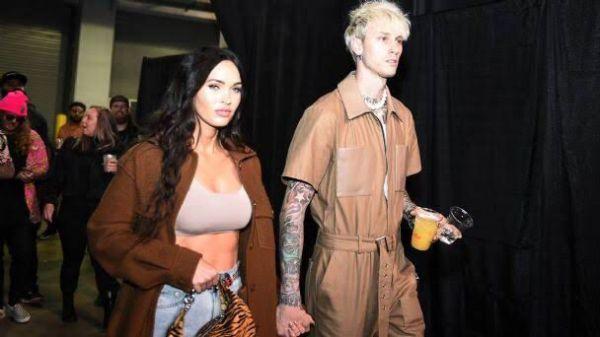 Megan Fox y Machine Gun