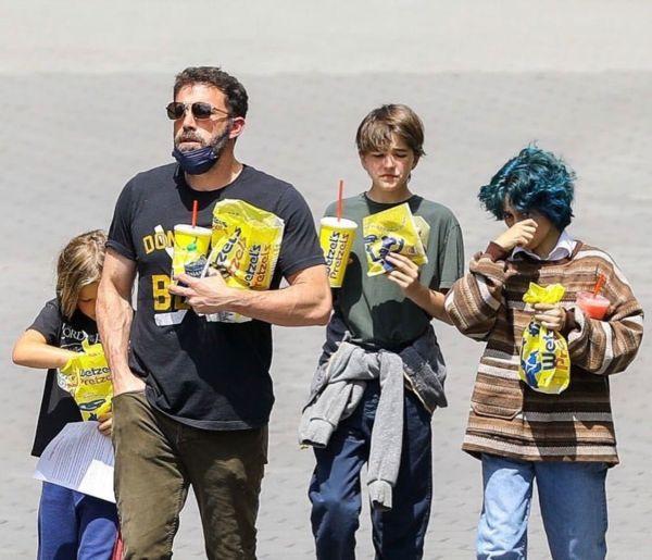 Ben Affleck en Universal Studios