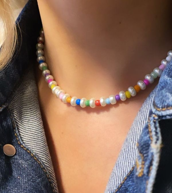 Choker perlas de MilaFer