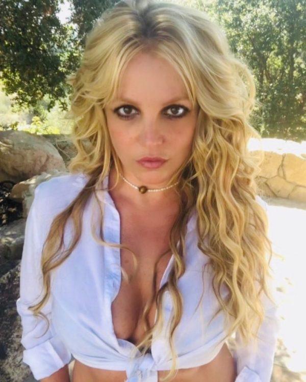 Instagram. Britney Spears a pocos días de haberse presentado en el tribunal.