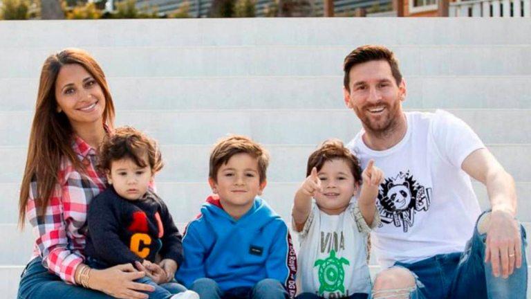 Messi-y-familia
