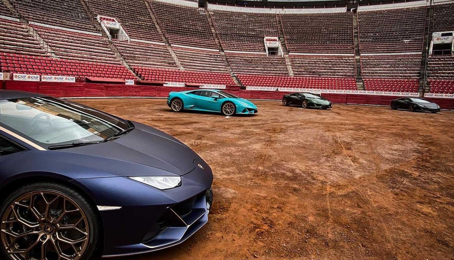 Lamborghini celebra su décimo aniversario con cuatro nuevas ediciones del Huracán Evo