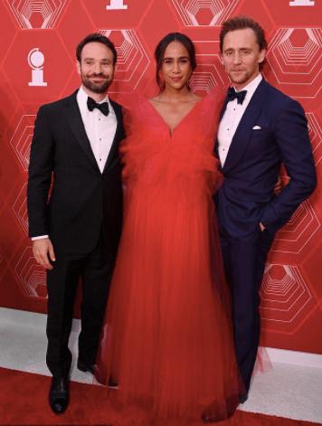Tom Hiddleston y Zawe Ashton