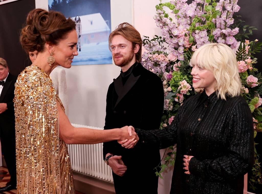 Billie Eilish conoce a la próxima reina de Inglaterra