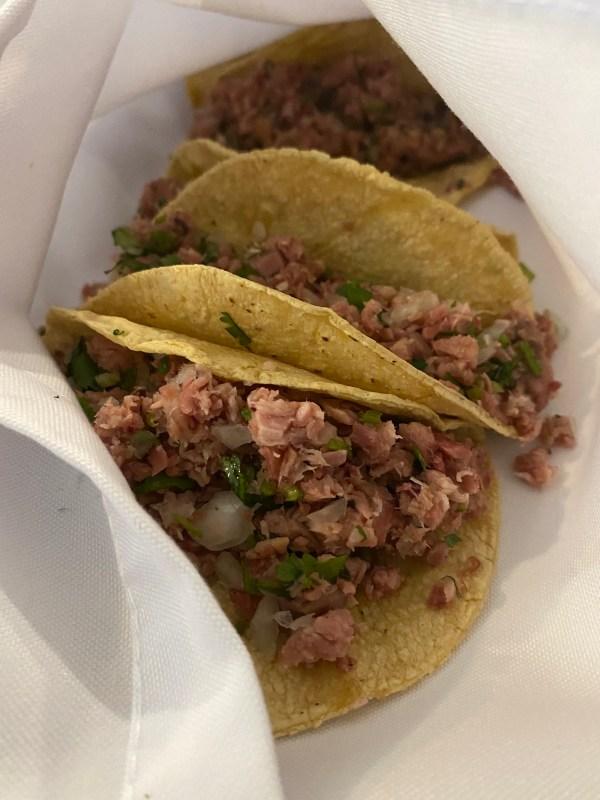 Tacos, Cantina El Bosque