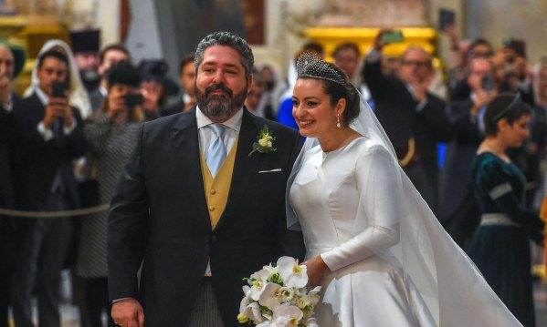 Jorge Romanov y Rebecca Bettarini
