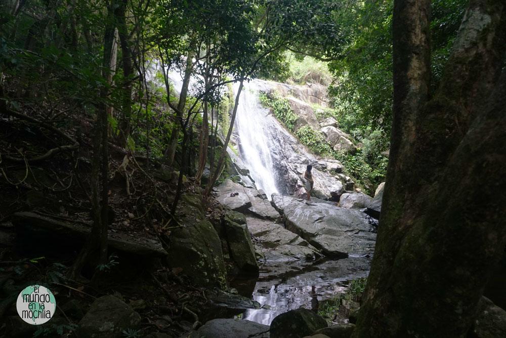 Cachoeira feticeira ilha grande