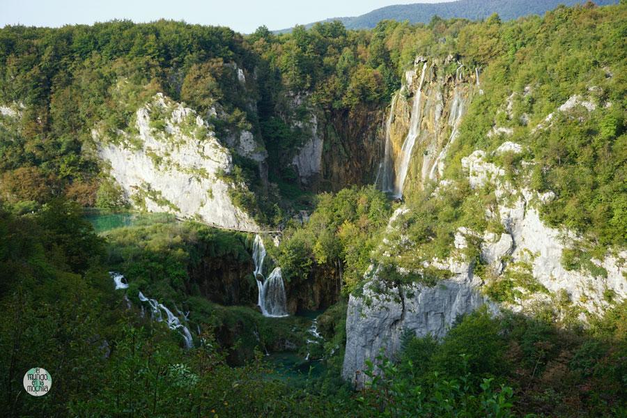 La Gran Cascada del Parque Nacional de los Lagos de Plitvice