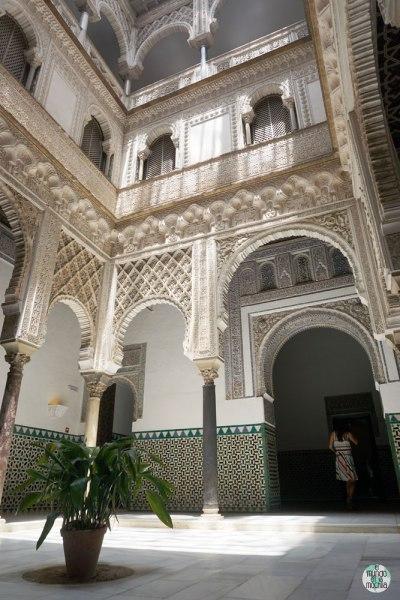 El Patio de las Muñecas del Alcazar Real de Sevilla
