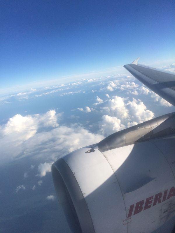 Vuelo de Iberia entre Madrid y Londres.