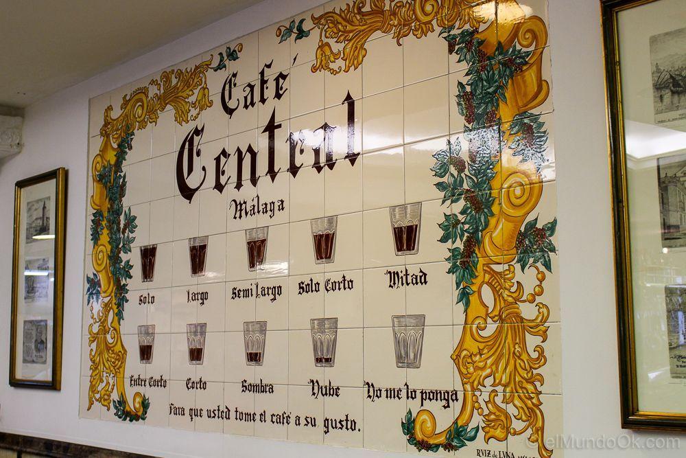 Café Central de Málaga