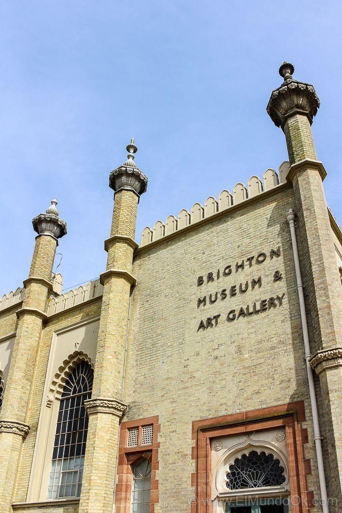 Fachada del Brighton Museum & Art Gallery. Brighton, Inglaterra.