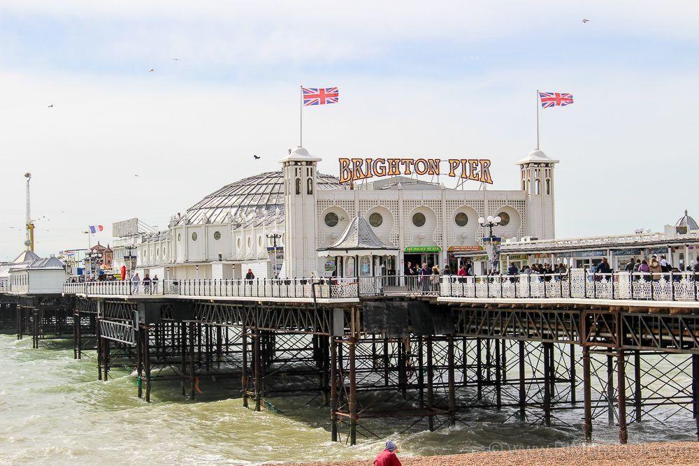 Brighton sobre el mar Londres-1084