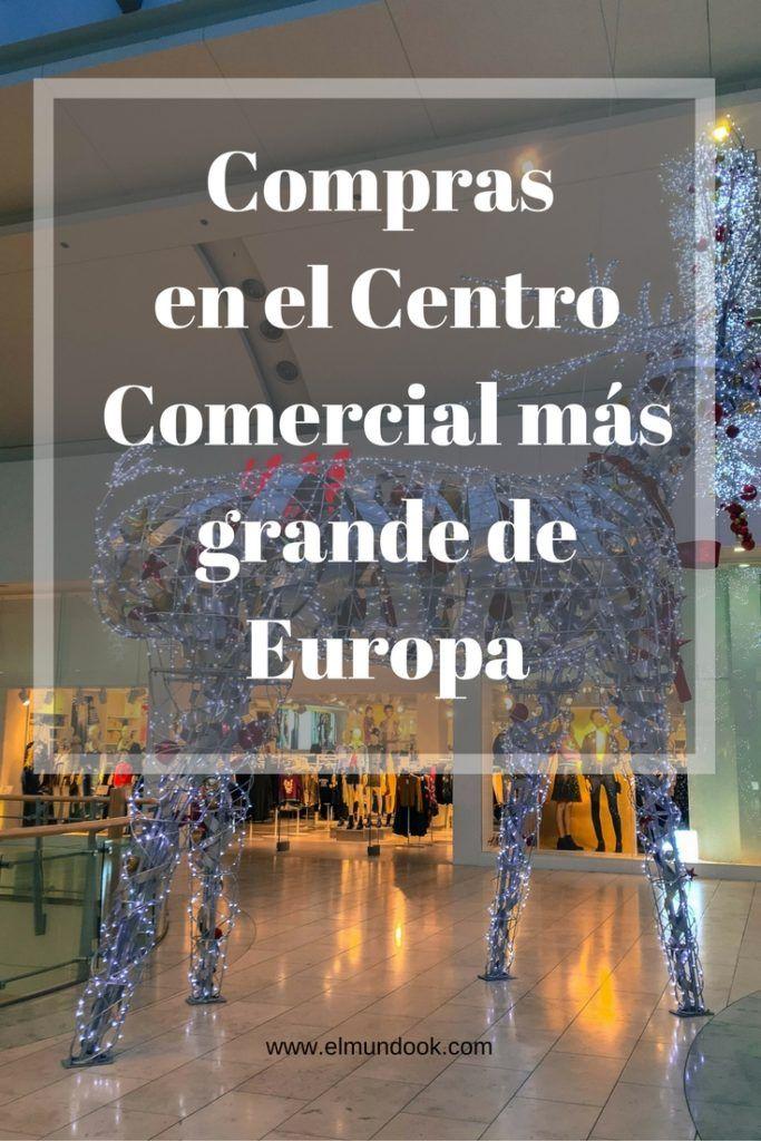 Decoración navideña 2016 en el Centro Comercial más grande de Europa