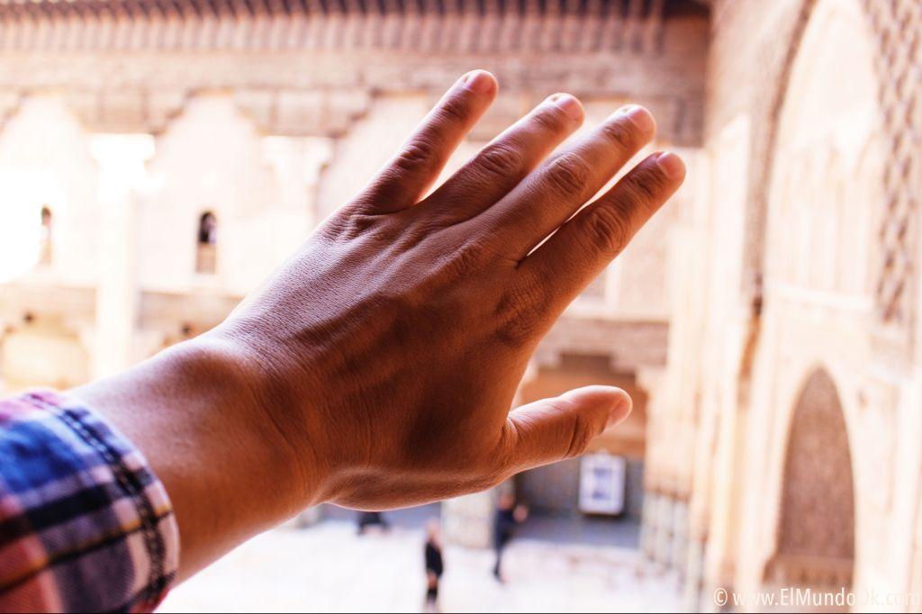 Sentir y viajar a Marruecos.