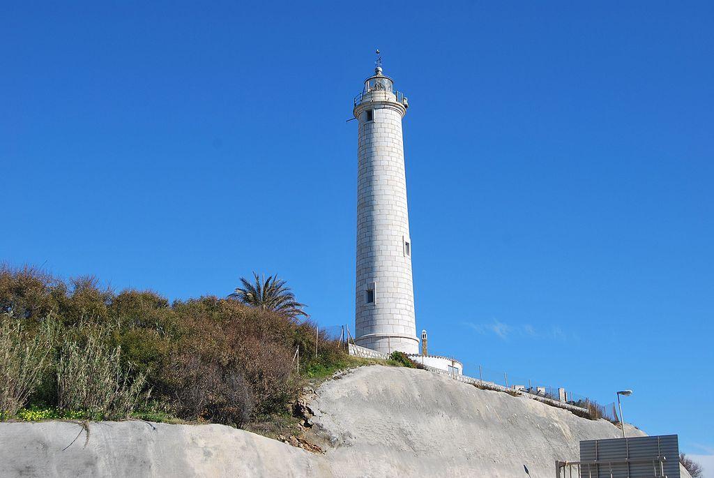Faro de Calaburras en Mijas. Málaga. España.