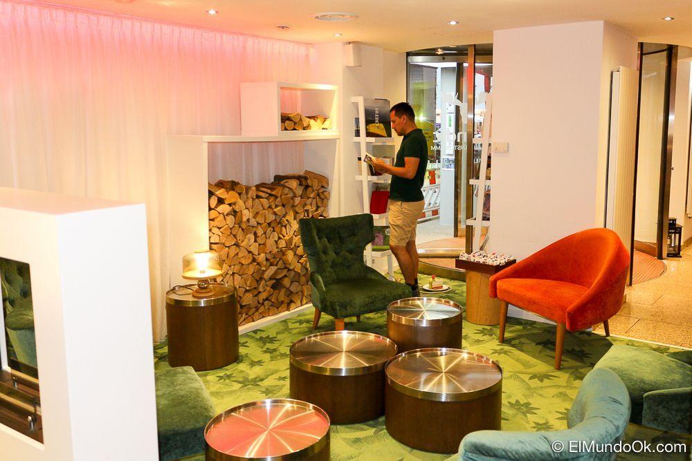 Toques modernos y sobrios en el hotel Scandic Berlin Kurfürstendamm.