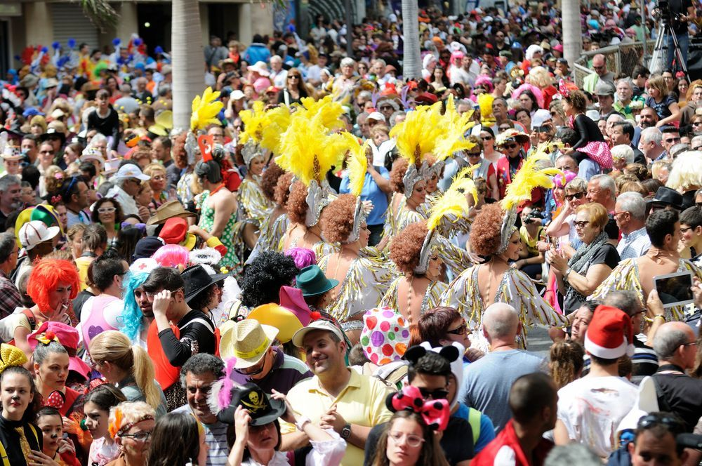 Carnavales en Tenerife. 08.03.2017.