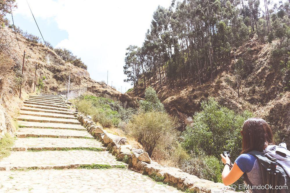 En una ciudad en altura como Cusco, nada está cerquita.