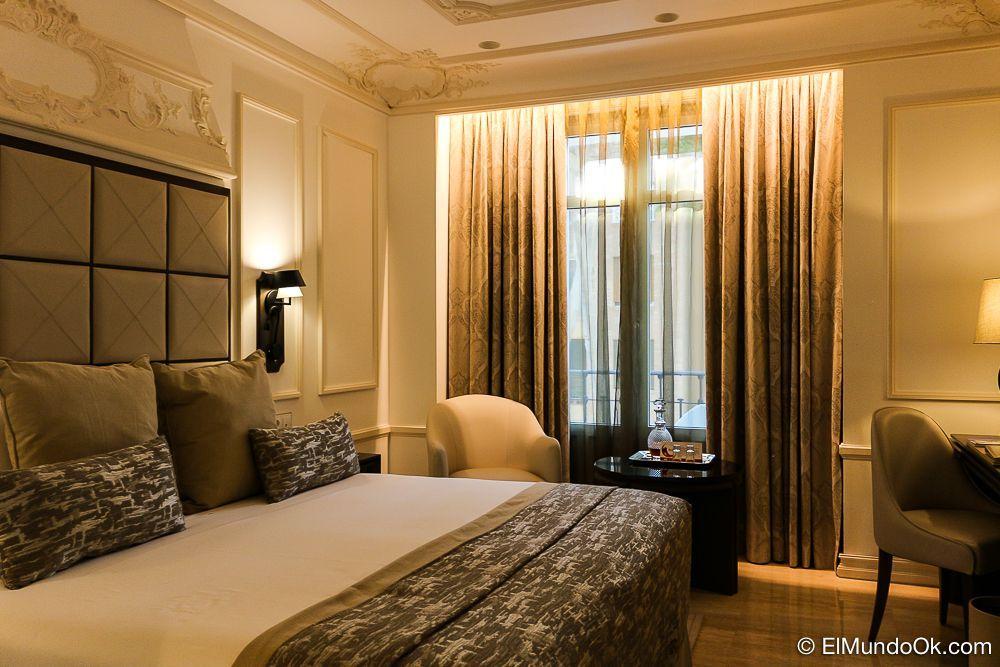 """Mi """"casa"""" por unos días. Una habitación clásica en la tercera planta con balcón. Gran Hotel Miramar."""
