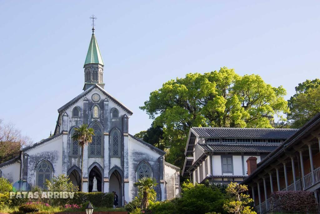 Catedral de Oura en Nagasaki, ejemplo del catolicismo japonés