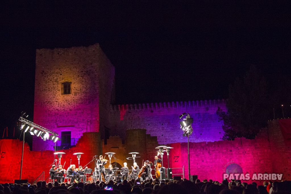 El concierto de las velas de Pedraza