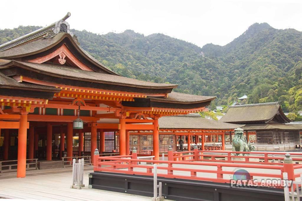 El Santuario Itsukushima en Miyajima