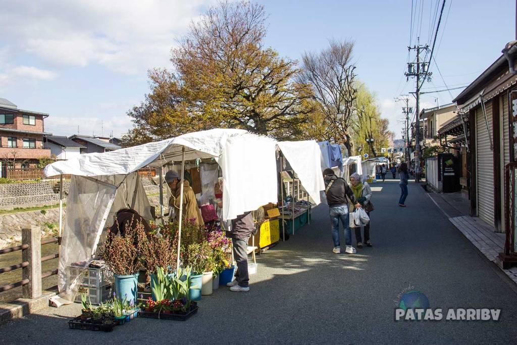 Los mercados matutinos de Miyagawa y Jinyamae
