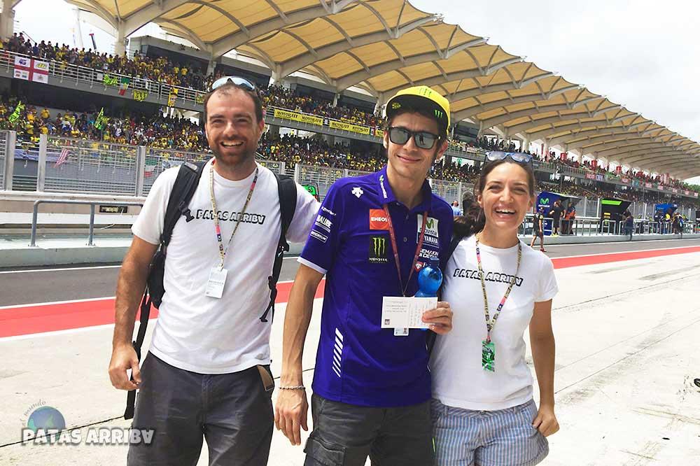 Valentino Rossi. MotoGP en el circuito de Sepang