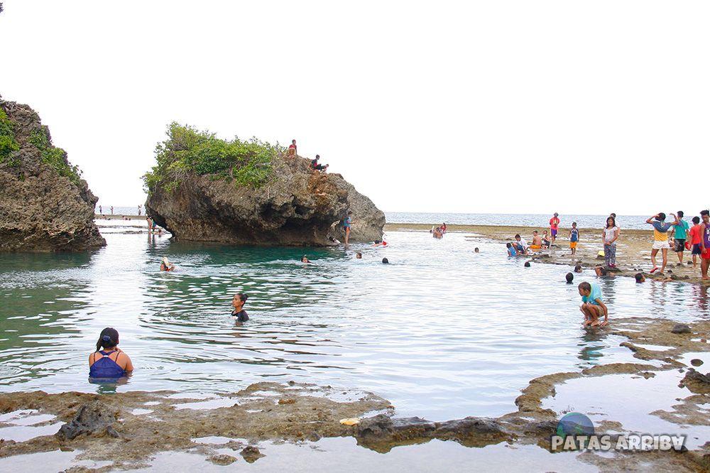 Magpupungko Tidal Lagoons, Siargao, Filipinas