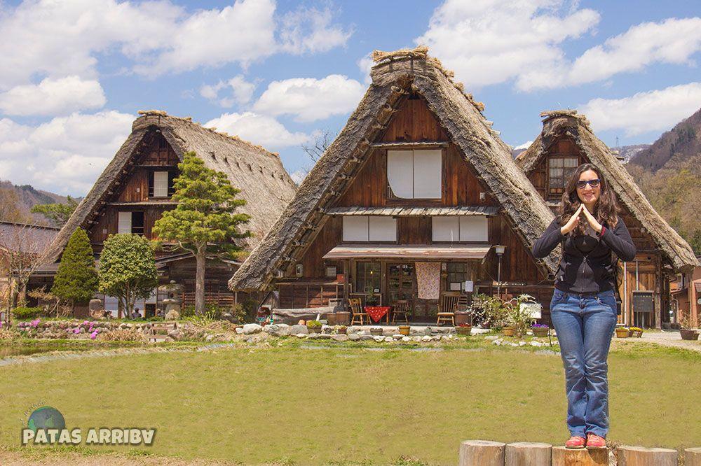 Casas tradicionales gasho Shirikawago Japón