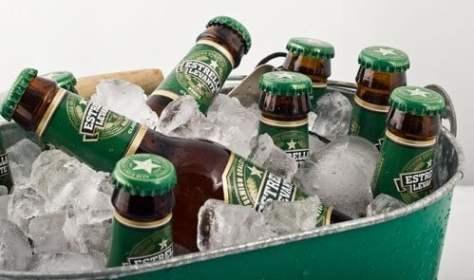 Cerveza murciana Estrella Levante