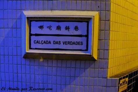 Rótulos y señales en portugués