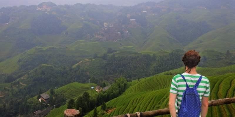 Las terrazas de arroz en Longshen. Guilin