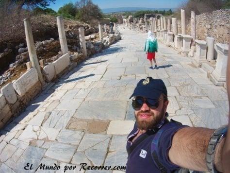 Gran avenida en Éfeso