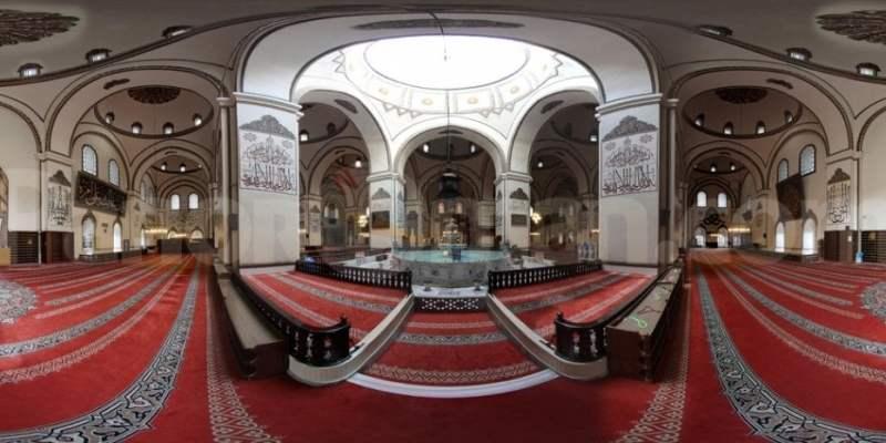 Bursa: La Mezquita impresionante de Turquía