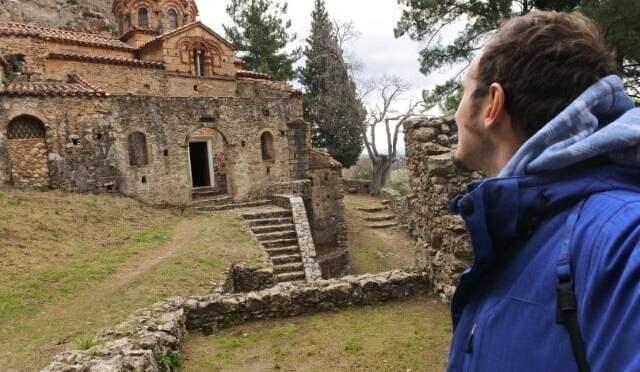 Mystras: la fortificación bizantina en el Peloponeso