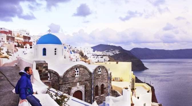 Santorini: Nieve en la Isla Griega por excelencia. Guía para ir en Temporada baja.