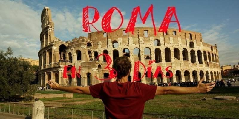 Visita Roma en 3 o 4 días sin Perderte Nada!