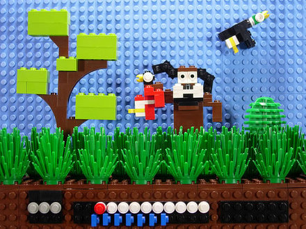 Duck Hunt in Legos