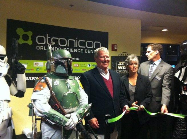 Orlando Mayor Buddy Dyer at OTRONICON Opening Ceremony