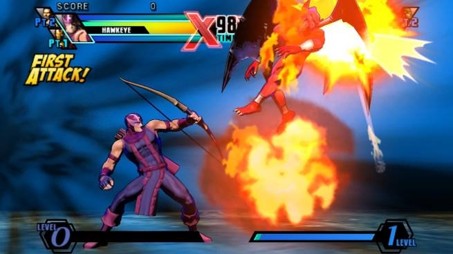 """""""Ultimate Marvel vs Capcpm 3"""" [PS Vita] - Hawk Eye"""