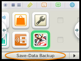 Nintendo 3DS: System Update - Save-Data Backup